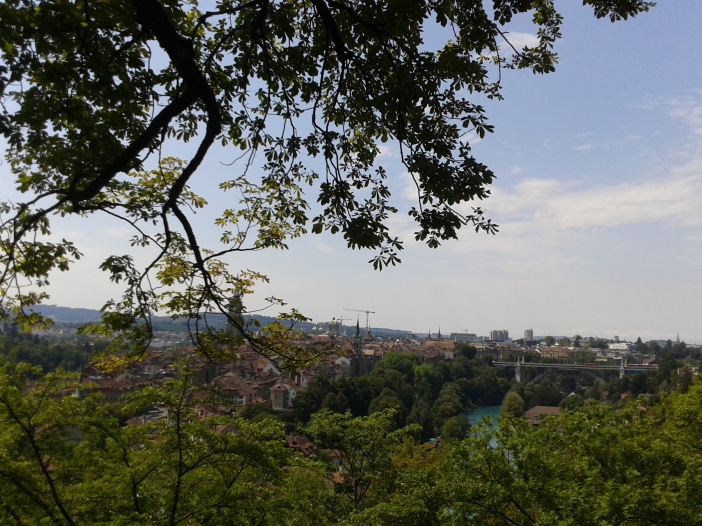 View of the city of Bern
