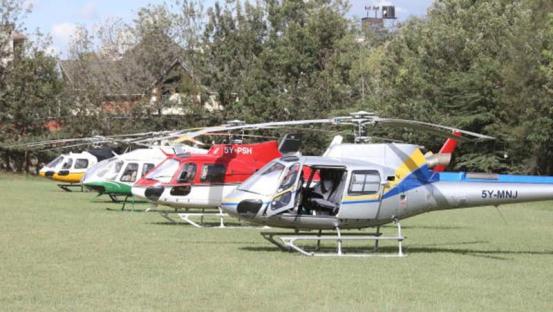 helicopter Kenya