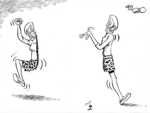 Wanjiku divided